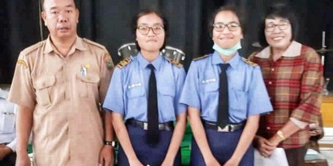 Dua Siswi Kembar SMAN 5 Palangka Raya Raih Nilai Bahasa Inggris 100