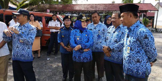 Wakil Walikota Pengecekan Kesiapan Angkutan Lebaran