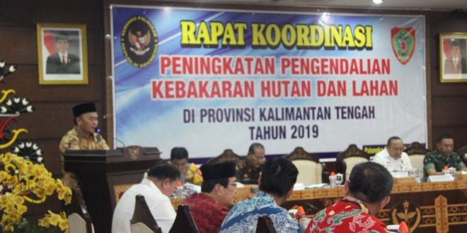 Peningkatan Pengendalian Karhutla di Provinsi Kalteng