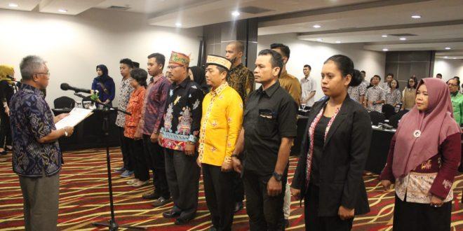 Pengukuhan Pengurus Forum Bela Negara Kota Palangka Raya