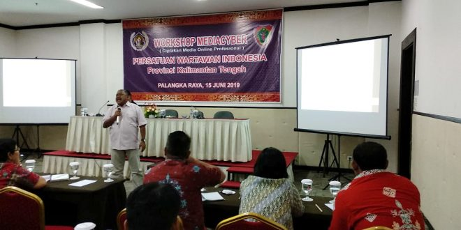 Workshop Media Cyber Ciptakan Media Online Yang Profesional
