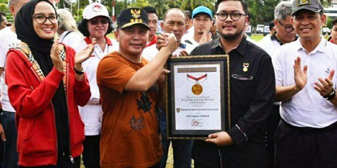 Kalteng Pecahkan Rekor MURI Bakar Jagung Terbanyak se Indonesia