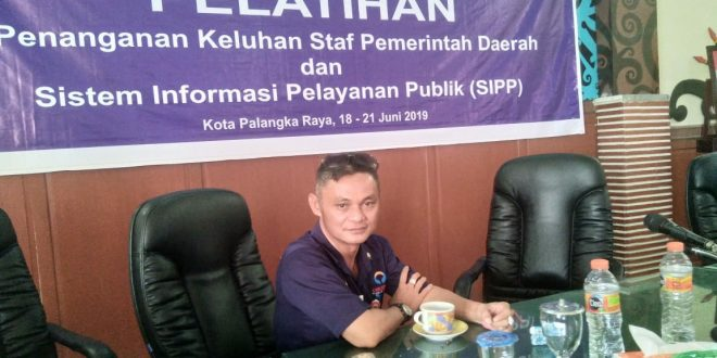 Ombudsman Perwakilan Kalteng Support Pelatihan SP4N dan SIPP
