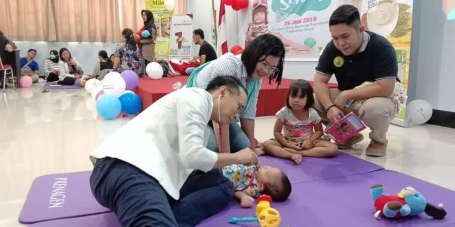 Aisha Till Maryam Menangi Lomba Balita Sehat Usia 0-6 Bulan