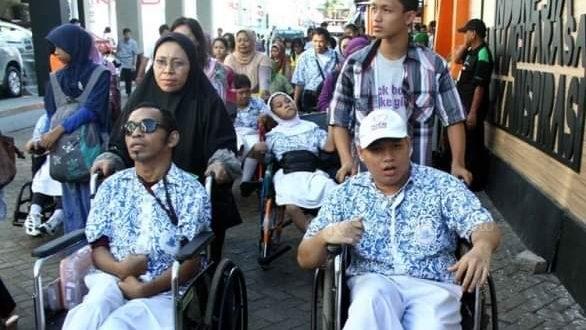 Hanya SMAN 4 Palangka Raya yang Ada Calon Siswa Disabilitas