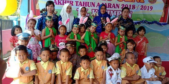 Acara Perpisahan Anak TK Petuk Katimpun Membawa Berkah