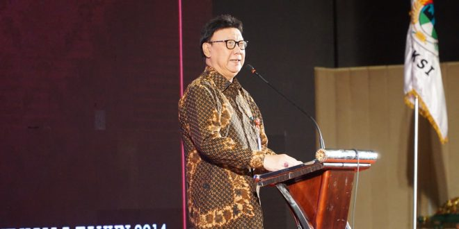 Menteri Dalam Negeri Membuka Rakernas XIV APEKSI Tahun 2019