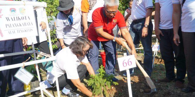 Pemerintah Kota Palangka Raya Tanam Pohon Alau