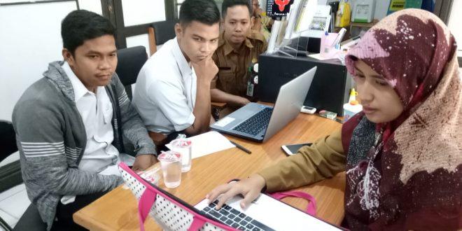 PPID Utama Pemkot Lakukan Supervisi PPID Pembantu Kecamatan Bukit Batu.