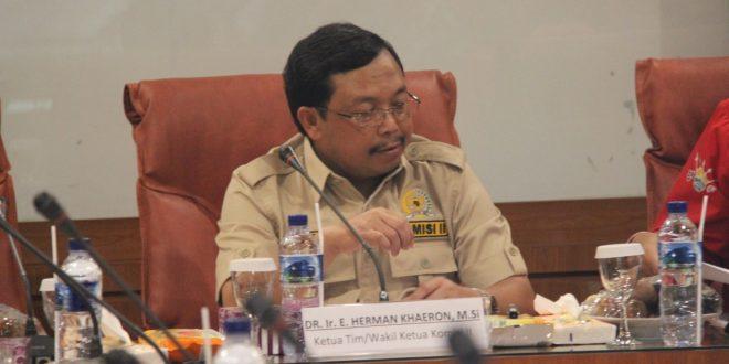 Komisi II DPR RI Melaksanakan Pengawasan di BPN Prov Kalteng