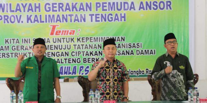 Kalteng Adakan Pelatihan Kepemimpinan Lanjutan Pengurus Gerakan Pemuda Ansor