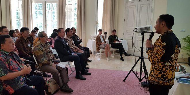 Fairid Paparkan Kesiapan Palangka Raya Jadi Ibu Kota di Kedubes Swedia