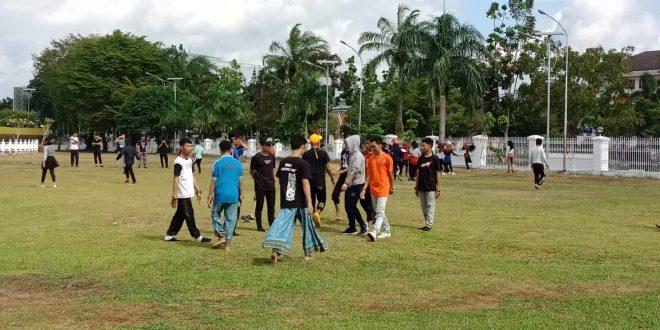 Tim Tari Hyang Dadas Berlatih untuk Tampil Memukau di Depan Presiden