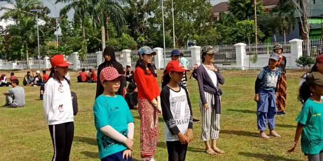 Penari Hyang Dadas Bersiap Menuju Istana Negara