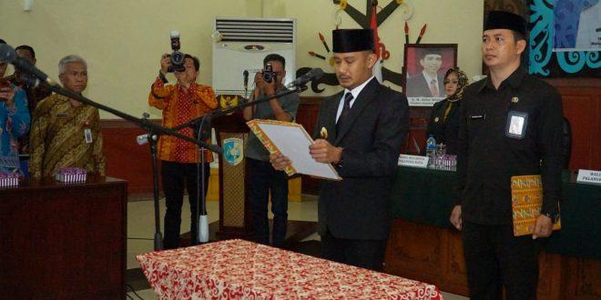 Walikota Lantik 34 Pejabat Administrator dan Pengawas