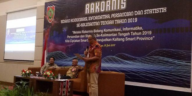 Kesepakatan Hasil Rakornis Bidang Kominfo Persandian Dan Statistik Kab/Kota Se-Kalimantan Tengah
