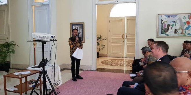 """Walikota Palangka Raya Ikuti """" Smart Mobility Workshop"""" di Rumah Duta Besar Swedia Untuk Indonesia"""
