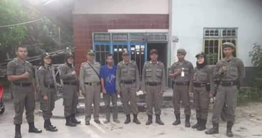 Anggota Satpol PP Patroli Karhutla