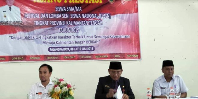 Palangka Raya Juara Umum FLS2N Tingkat Provinsi