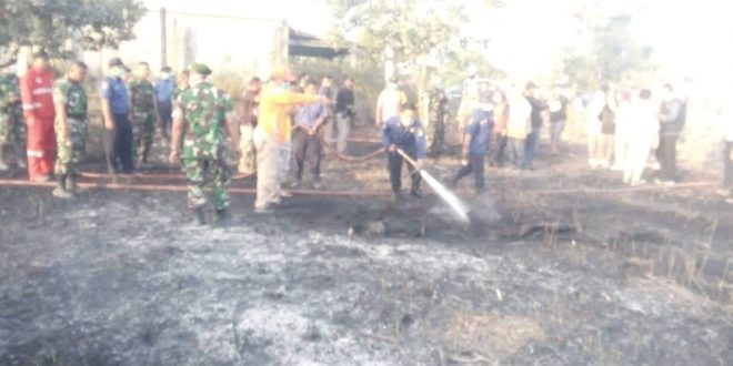 35 Ha Lahan Terbakar di Jekan Raya