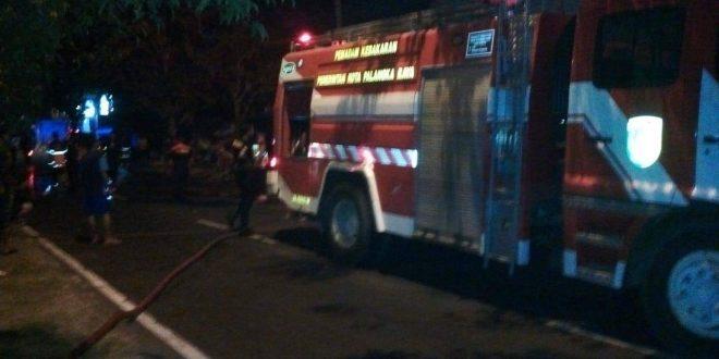 Ruko 4 Pintu Terbakar di Jalan RTA Milono