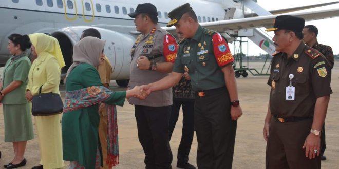 Kunjungan RI-4 Aman dan Lancar, Pangkoops Berikan Apresiasi