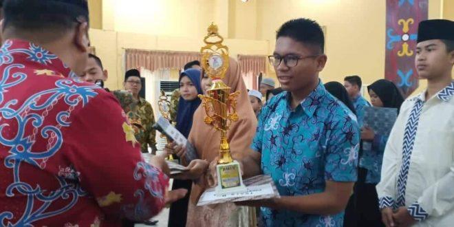 Siswa SMAN 5 Raih Juara II Pidato Pentas PAI Kalteng