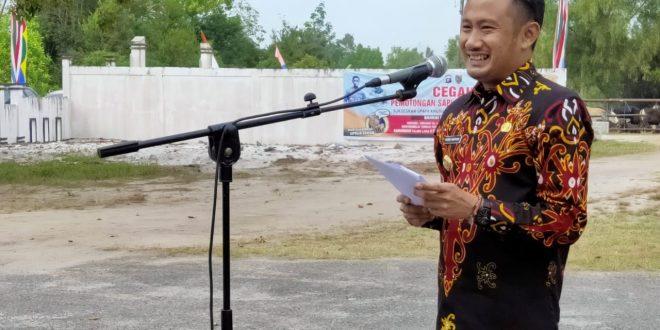 Walikota Palangka Raya Serahkan Hewan Sapi Qurban
