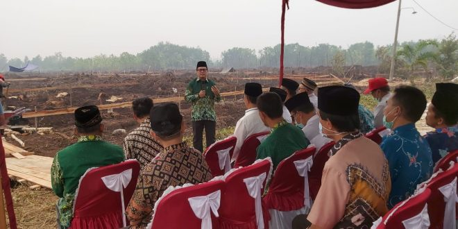 Tahap Awal Pembangunan Gedung SMK Kesehatan Muhammadiyah