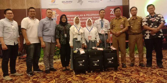 Ikuti Program BUMN , 23 Siswa dan Guru Berprestasi Kalteng Berpetualang di Palembang