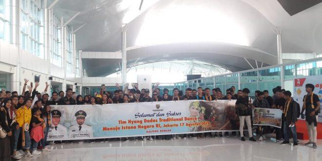Tim Tari Hyang Dadas Berangkat Menuju Istana Negara