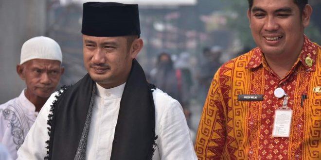 Walikota Fairid,  Minta Aparat Hukum Usut Tuntas Pembakar Lahan