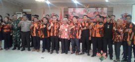 Pelantikan Majelis  Pimpinan Cabang (MPC) Pemuda  Pancasila Kota  Palangka Raya Periode 2019-2023