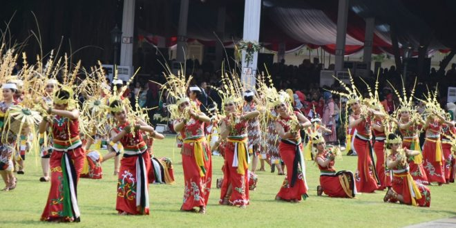 Tari Hyang Dadas Tampil Memukau di Istana Negara