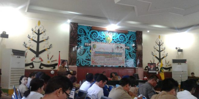 Pemerintah Kota Palangka Raya Melaksanakan  Bimtek Aplikasi E-Planning