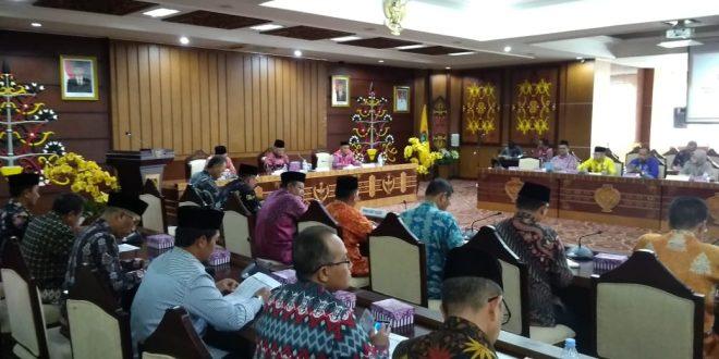 Rapat Persiapan Kedatangan dan Pemulangan Jemaah Haji Provinsi  Kalteng