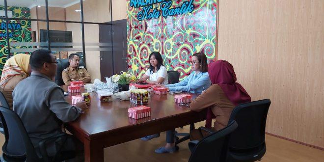Walikota Palangka Raya Audensi Dengan Unika Atma Jaya