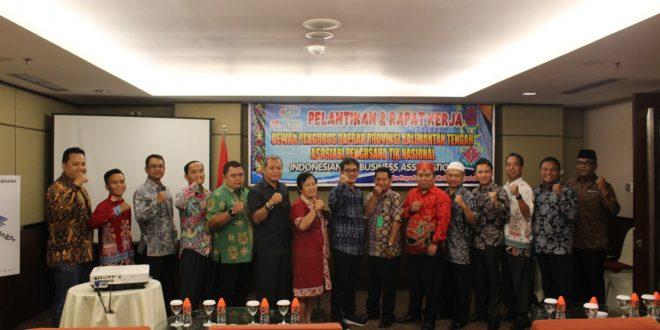 DPD APTIKNAS Provinsi Kalimantan Tengah Resmi di Lantik