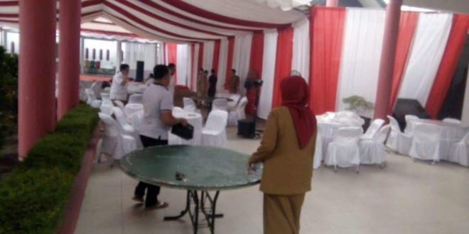 Sebarkan 600 Undangan Acara Pelantikan Anggota DPRD Palangka Raya
