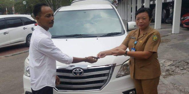 Mantan Wakil Ketua 1 DPRD Kembalikan Mobil Dinas