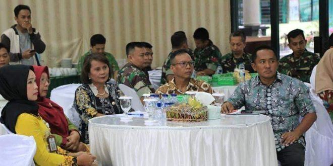 Staf Ahli Panglima TNI Bidang Lingkungan Kunjungan Kerja ke Palangka Raya