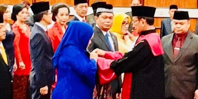 45 Anggota DPRD Kalteng Periode 2019-2024 Dilantik