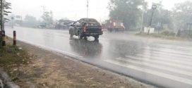 Sebagian Wilayah Kota Palangka Raya Diguyur Hujan
