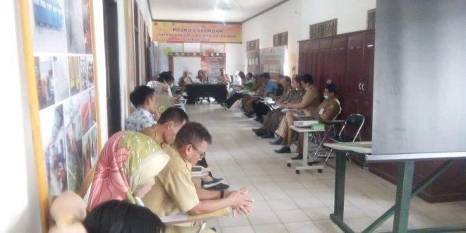 Wakil Walikota Pimpin Rakor Evaluasi Karhutla