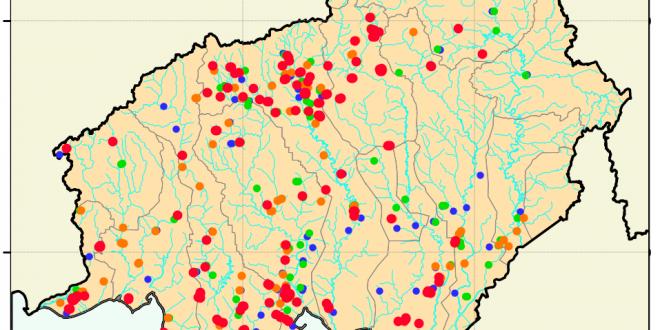 Terpantau 1.042 Hotspot di Kalimantan Tengah