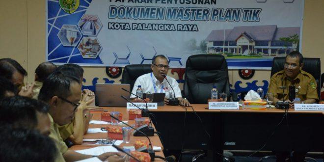 Penyusunan Master Plan TIK Kota Palangka Raya Tahun 2019-2024 Rampung