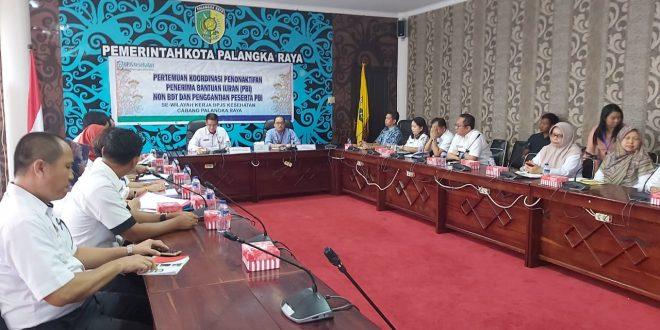 Pertemuan Koordinasi Penonaktifan Penerima Bantuan Iuran (PBI) Non BDT dan Penggantian Peserta PBI