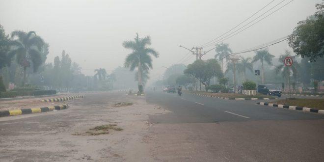 Disdik Belum Ambil Kebijakan atas Kabut Asap Kembali Menyaput