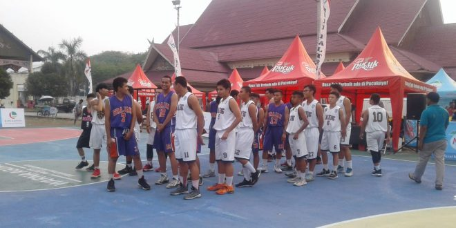 Tournament Cup Bola Basket Antar Club se Kota  Palangka Raya
