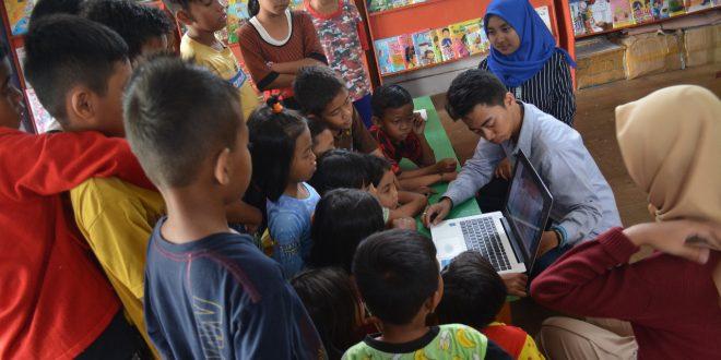 Memutuskan Mata Rantai Putus Sekolah Anak-Anak Pinggiran Sungai Kahayan